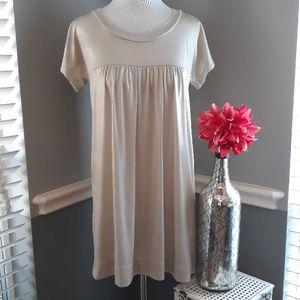 Gold Shimmer Mini Dress sz S